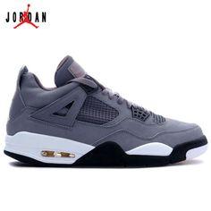 e8fba31a9e7 308497-001 Air Jordan 4 Cool Grey Chrome Dark Charcoal Varsity Maize A04001, Jordan-Jordan 4 Shoes Sale Online