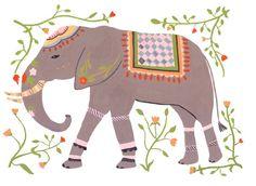 decorated elephant...tattoo idea?