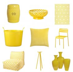 Yellow Home Accessories Spring 2012