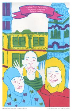 Driving Down Park Street #culture #art #syracuseny #syracuse #poster #posterproject