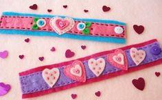 Como hacer pulseras para San Valentin