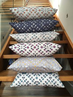 Part of a range of new and exclusive prints for Summer 2017. Inspired by the works of Gustav Klimt these geometric print cushion covers will add freshness and newness to any indoor or outdoor space.   There are 6 timeless colours to choose from.