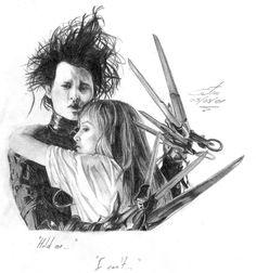 Edward Scissorhands by Costa85.deviantart.com on @deviantART