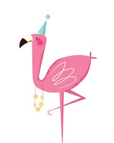 Flamingos PNG and Clipart Pink Flamingo Party, Flamingo Birthday, Pink Flamingos, Flamingo Illustration, Cute Illustration, Bird Art, Pattern Wallpaper, Cute Art, Animal Prints
