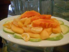 Exquisita fruta para degustar después de un rico almuerzo.
