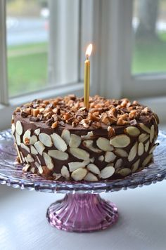 Playing with Flour: Chocolate almond torte