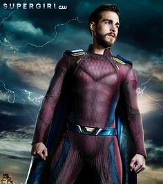 New Supergirl Poster Shows Mon-El Fully Suited Up -- Photo: Supergirl Mon-El (Chris Wood) Poster Supergirl Season, Supergirl Tv, Supergirl And Flash, Melissa Supergirl, Chris Wood, Movies And Series, Dc Movies, Cw Series, The Cw