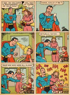 Super Antics #2, part 2 with Superman