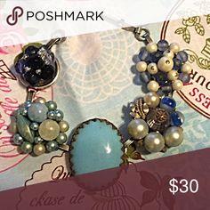 Vintage earring braclet NWOT 💍💍 Beautiful vintage earring braclet antique gold and silver NWOT etsy Jewelry Bracelets