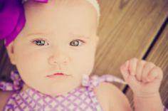 Baby Catherine's Six Month Infant Photos