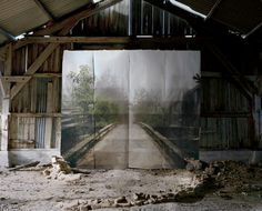 end of the road... artwork by Noemie Goudal