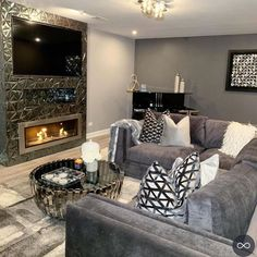 Glam Living Room, Living Room Decor Cozy, Family Room Decorating, Beautiful Living Rooms, Decorating Your Home, Home And Living, Bedroom Decor, Decorating Ideas, Interior Decorating