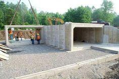 Wieser Concrete 187 Box Culvert Project House Hidden