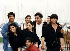 SRK on the sets of Dilwale Dulhania Le Jayenge - DDLJ - (1995)