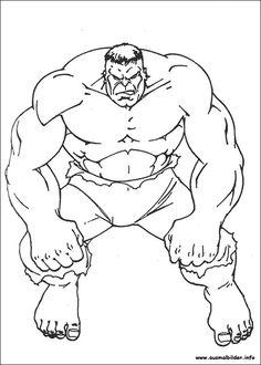 18 En Iyi Hulk Ausmalbilder Görüntüsü Cartoon Caracters Coloring