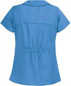 UA Butter Soft rolled collar button front scrub top has a stylish design and two front pockets for storage. Shop a wide variety of soft medical scrubs at UA. Medical Uniforms, Medical Scrubs, Collar Top, Scrub Tops, Princess Seam, Perfect Match, Short Sleeve Dresses, Women's Fashion, Blouse