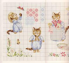 Gallery.ru / Фото #24 - Veronique Enginger. Le monde de Beatrix Potter - CrossStich