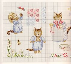 Gallery.ru / Фото #24 - Veronique Enginger. Le monde de Beatrix Potter - CrossStich