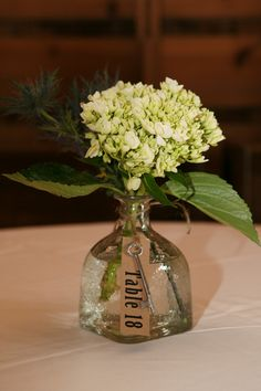 Patron Bottle Vases -- pretty shape and you'd have fun emptying the bottles. Farm Wedding, Wedding Table, Rustic Wedding, Wedding Bells, Dream Wedding, Wedding Navy, Bottle Centerpieces, Wedding Centerpieces, Wedding Decorations