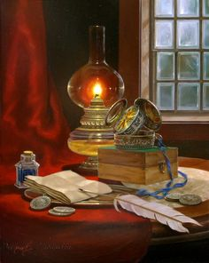 Still Life. The artist Gyula Boros (Gyula Boros) .. Discussion on LiveInternet - Russian Service Online Diaries