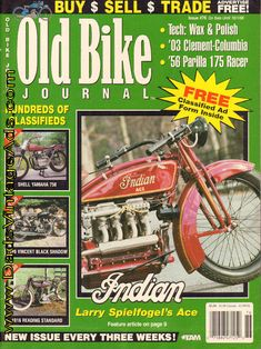 Philly's Final Four – Larry Spielfogel's Indian Ace was the first four to publicly wear the Indain name – literally Vintage Indian Motorcycles, Antique Motorcycles, Buy Sell Trade, Final Four, Old Bikes, Classic Bikes, September 10, Journal, Larry