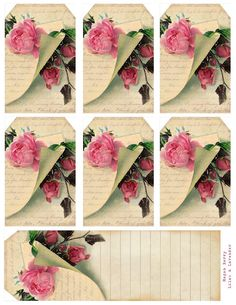 Breathings of your heart... ~ free printable set of small tags and bookmark