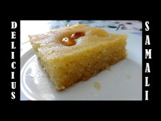 Σάμαλι Μελωμένο Συνταγή Αιγύπτου - Γιαγιά Μαίρη Εν Δράσει Cornbread, Cheesecake, Pudding, Sweets, Candy, Ethnic Recipes, Desserts, Food, Youtube