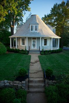 Little Round house all spruced up! Website has great photos