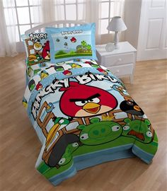 Angry Birds - Destruction Twin Comforter