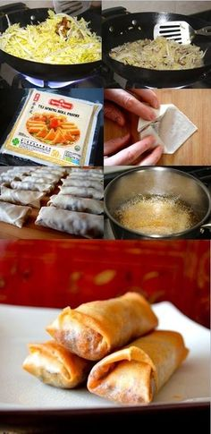 Shanghai Style Spring Roll, our favorite spring roll recipe. The-Woks-of-Life #springroll