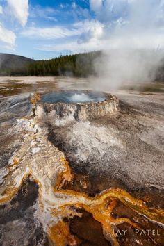 Sauna, Yellowstone @ www.jaypatelphotography.com/photography/photo-of-the-day/sauna