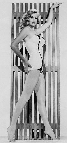 Anita Ekberg; photo for Paramount; c. 1955.