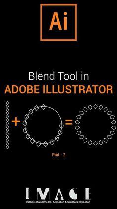 Graphic Design Lessons, Graphic Design Tools, Graphic Design Tutorials, Design Art, Graphic Design Illustration, Digital Illustration, Simple Hack, Blend Tool, Logo Design Tutorial