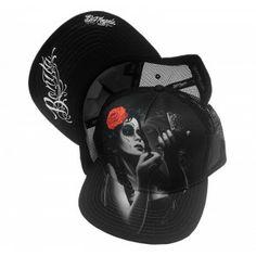 Snapback Baseball Cap Trucker Hat Bonita By David Gonzales - Purple Leopard Boutique