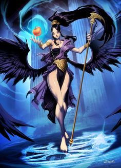 Eris by GENZOMAN on deviantART. Tags: eris goddess of chaos, strife and discord; discordia