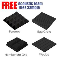 Arrowzoom X Soft Medium High Density Upholstery Foam Cushion Sheet Seat Replacement with 3 Thickness Padding Foam Panels, Tile Panels, Bass Trap, 96 Hours, Compressive Strength, Egg Crates, Sound Absorption, Sound Absorbing, Upholstery Foam