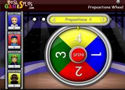 Animals, Colors, Colours, Clothes & Numbers ESL Vocabulary Wheel Game