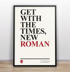 Typographic Jokes – Poster Series by Gary Nicholson