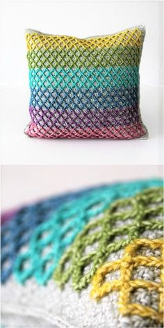 crochet pattern: the Anchor pillow