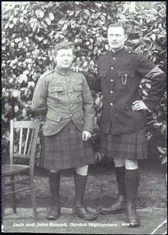 Gordon Highlanders WWI