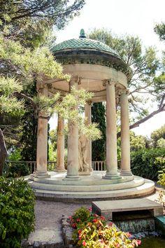 Temple of Love, Jardins de la Villa Ephrussi de Rothschild, Saint-Jean-Cap-Ferrat, French Riviera, France | Bold Bliss