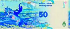 Argentina 50 pesos (Falklands War commemorative) - 2014