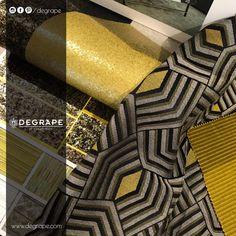 Degrape ile yaşam alanlarınız ışıl ışıl... Arte'nin birbirinden iddialı duvar kaplama ürünleri ile Degrape koleksiyonları sizleri bekliyor. Kumaş: Degrape - Fountain. Duvar kaplama: ARTE  #perde #degrape #kumaş #izmir #duvarkağıdı #arte #istanbul #curtain #upholstery #textile #design #interiordesign #elegant Istanbul, Elegant, Classy, Chic