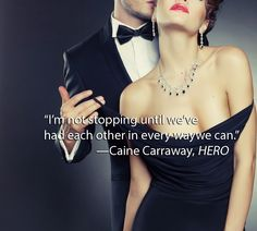 """Hero from NYT Bestseller Samantha Young. Coming soon Feb 3rd 2015. """"Don't you get it?"""" he said, his voice gruff with emotion. """"I've never met anyone like you before. There's no one like you. I keep waiting to not feel like this, because there are times I can't bear it. To care this much…"""" —Hero, from NYT Bestseller Samantha Young.  """"Blazingly Hot!"""" — Publisher's Weekly"""