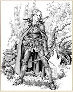 Jägerin von Caryad.