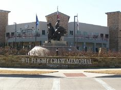 Grapevine,TX: 9/11 Flight Crew Memorial