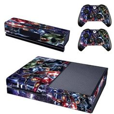 The Avengers Xbox one Skin for Xbox one Skin console and 2 controllers. Choose your favorite design from a huge range of Xbox one skins collection for Xbox One Console. The Avengers, Microsoft, Valkyria Chronicles, Xbox One Skin, Ps4 Skins, Video Games Xbox, Xbox One Console, Xbox Live, Metal Gear Solid