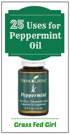 25 Uses for Peppermint Essential Oil