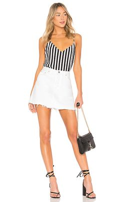 Shop for L'AGENCE Jane Cami Top in Black & White at REVOLVE. Free day shipping and returns, 30 day price match guarantee. Cami Tops, Revolve Clothing, Rompers, Black And White, Shopping, Dresses, Women, Fashion, Black White
