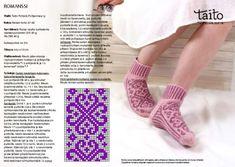 thumbnail of Roosanauhasukka_Romanssi_ohje Mitten Gloves, Mittens, Knitting Socks, Knit Socks, Leg Warmers, Blog, Crafts, Inspirational, Google